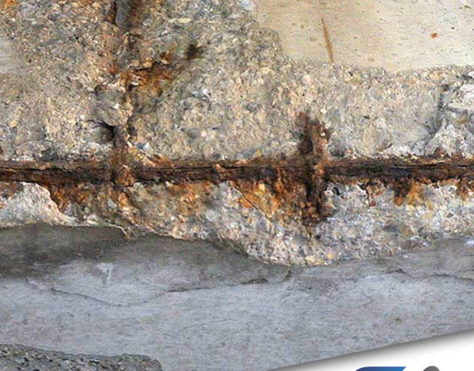 Processo de corrosão do aço no concreto